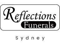 Reflections funerals logo footer